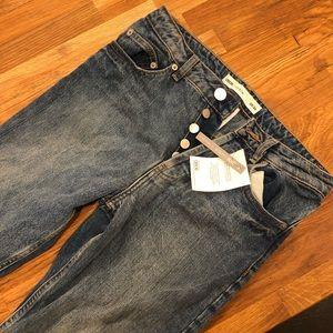 Asos petit cropped jeans
